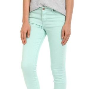 Cotton On Ritchie skinny leg jean Minty 26/4 New.